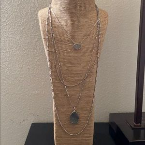 Silver Necklace NEW no tags